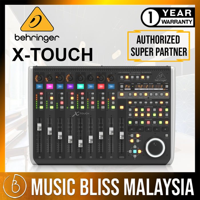 Behringer X-Touch Universal Control Surface (XTouch) *Crazy Sales Promotion* - Music Bliss Malaysia