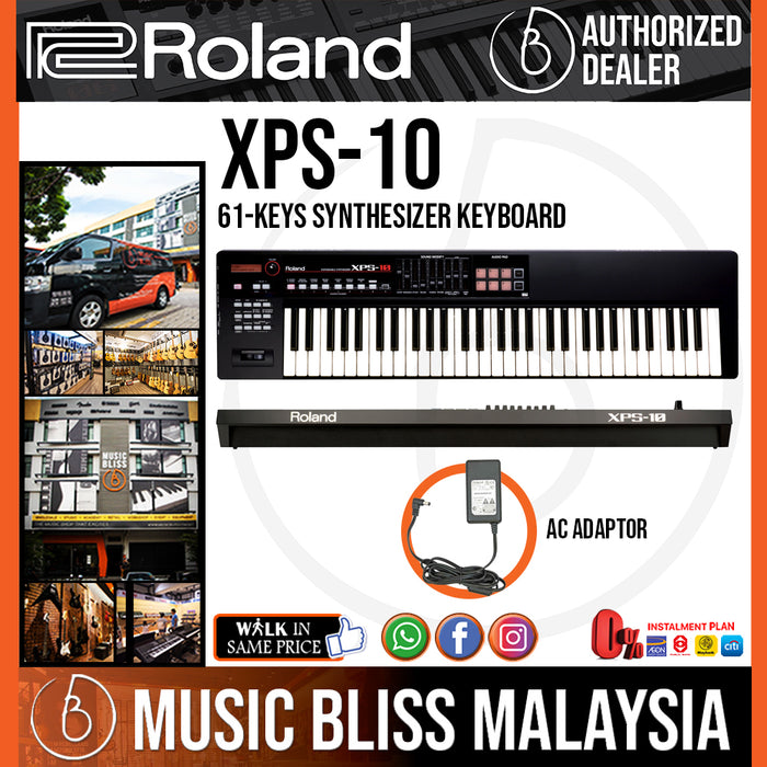 Roland XPS-10 61-Key Expandable Synthesizer with FREE Shipping (XPS10 XPS 10) - Music Bliss Malaysia