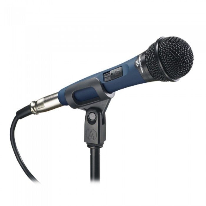 Audio Technica MB1K/Qtr Handheld Cardioid Dynamic Vocal Microphone with Quarter inch Cable (Audio-Technica MB 1K/Qtr) - Music Bliss Malaysia