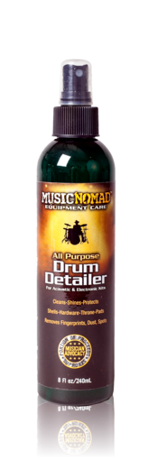 Music Nomad MN110 Premium Drum Detailer and Polish8 oz. (MN-110) - Music Bliss Malaysia
