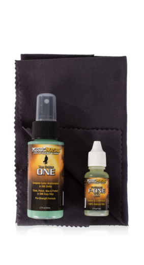 Music Nomad MN140 Premium Guitar Care 3-Piece Kit (MN-140)