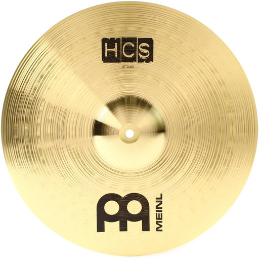 "Meinl Cymbals HCS16C 16"" HCS Brass Crash Cymbal for Drum Set"