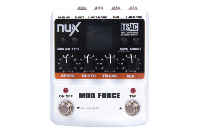 NUX MOD Force Multi Modulation Effect Pedal