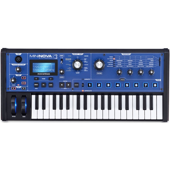 Novation MiniNova 37-mini-key Synthesizer