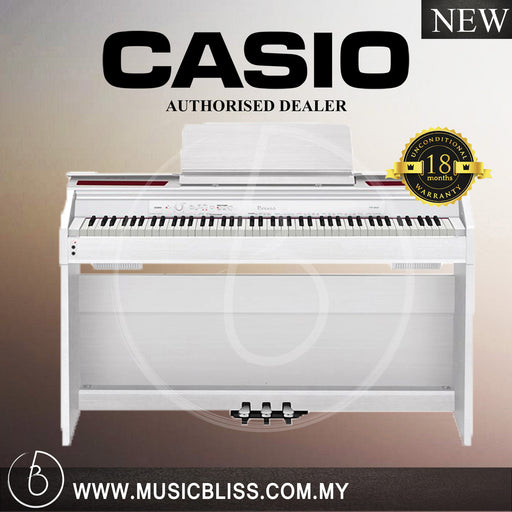 Casio PX-860 88-Keys Privia Digital Piano White (PX860)