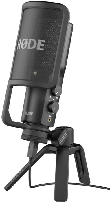 Rode NT-USB USB Condenser Microphone (NTUSB) [2 Years Warranty] *Everyday Low Prices Promotion* - Music Bliss Malaysia