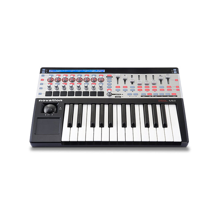 Novation 25 Remote SL Mk II 25-key USB MIDI Controller - Music Bliss Malaysia