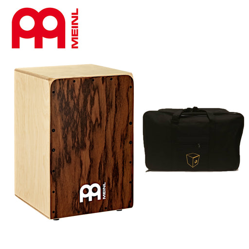 Meinl Percussion SC80DE Snarecraft Cajon with Free Cajon Bag - Dark Eucalyptus