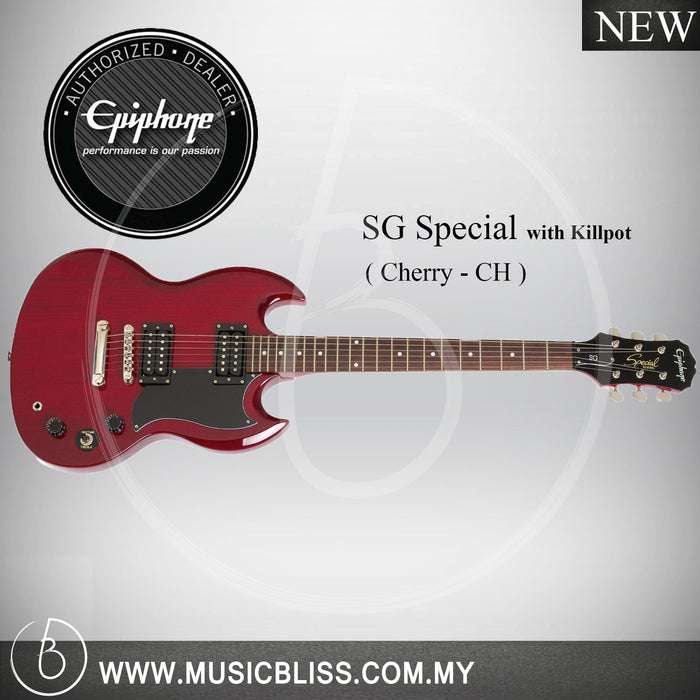 Epiphone SG Special Electric Guitar with KillPot - Cherry