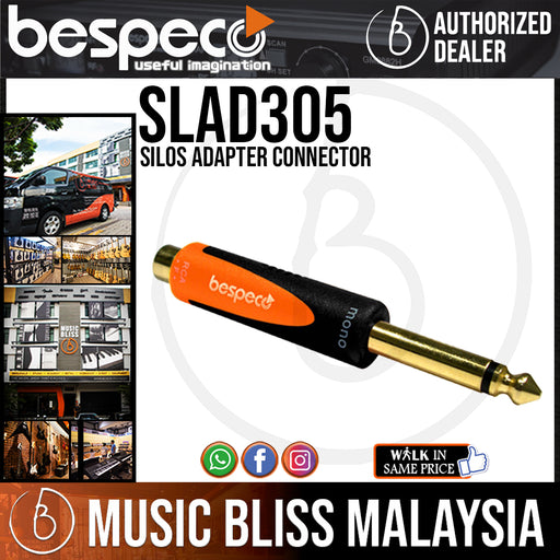 Bespeco SLAD305 Silos Adapter Connector (SLAD-305) - Music Bliss Malaysia