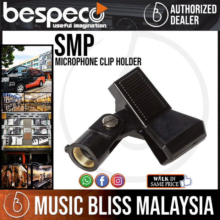 Bespeco SMP Microphone Clip Holder - Music Bliss Malaysia