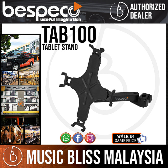 Bespeco TAB100 Stand for Tablet - Music Bliss Malaysia