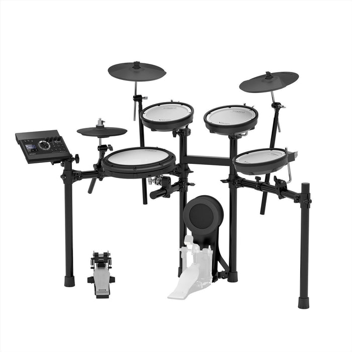 Roland TD-17KV V-Drums Digital Drum Electronic Drum with Roland PM-200 Amplifier, RH-5 Headphone, Kick Pedal, Drum Throne and Drumsticks (TD17KV / TD 17KV) *FREE SHIPPING*