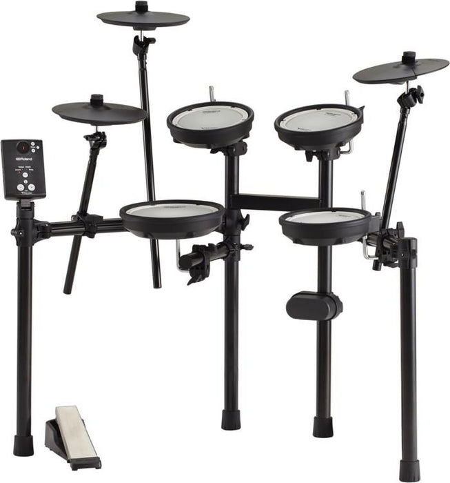 *ALL Roland Setup* Roland TD-1DMK V-Drums Electronic Drum Set with Roland PM-100 Amplifier, RH-5 Headphone, Kick Pedal, Throne and Drumsticks (TD1DMK/TD 1DMK/PM100) *Price Match Promotion* - Music Bliss Malaysia