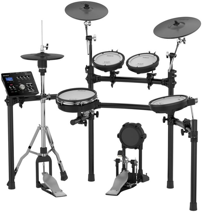 *FULLY ROLAND* Roland TD-25K V-Drums V-Tour Full Package Electronic Drum Set with Roland PM-100 Amplifier, RH-5 Headphone, Kick Pedal, Throne and Drumsticks (TD25K/TD 25K) *FREE SHIPPING*