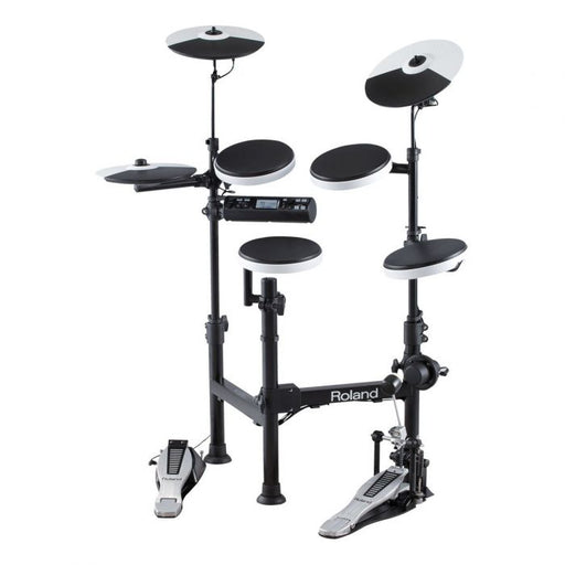Roland TD-4KP V-Drums Portable Basic Drum Set with Free Kick Pedal, Headphone & Drum Throne (TD4KP)