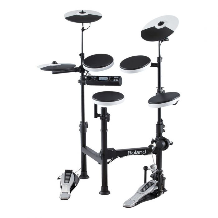 Roland TD-4KP V-Drums Portable Electronic Drum Set with Roland PM-100 Amplifier, RH-5 Headphone, Kick Pedal, Throne and Drumsticks (TD4KP) *FREE SHIPPING*