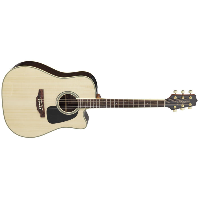 Takamine GD51CE Dreadnought Acoustic Electric Guitar - Natural - Music Bliss Malaysia