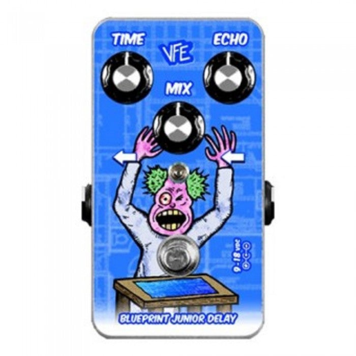 VFE Blueprint Junior Delay Effects Pedal - Music Bliss Malaysia