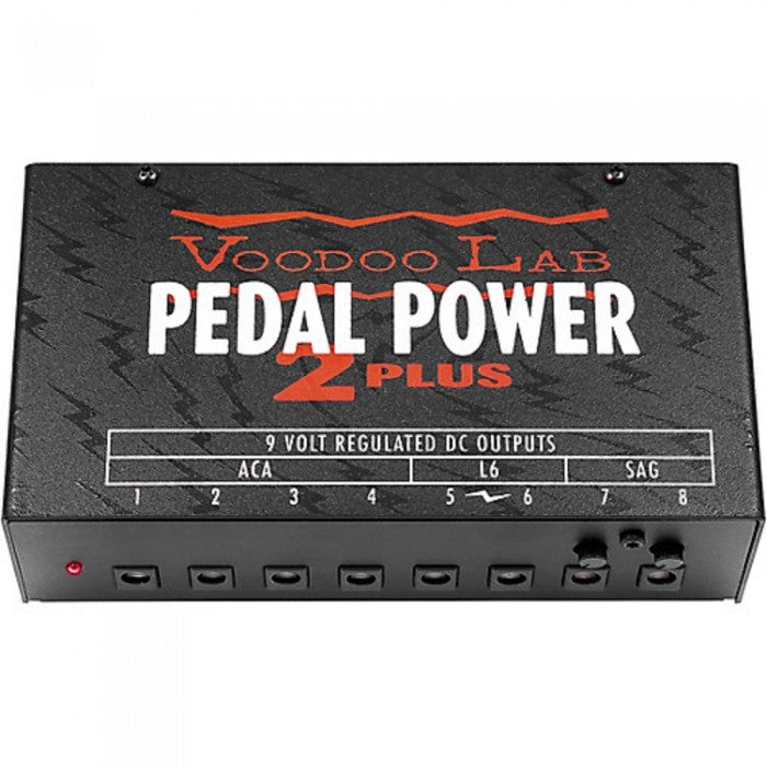Voodoo Lab Pedal Power 2 PLUS Isolated Power Supply - Music Bliss Malaysia