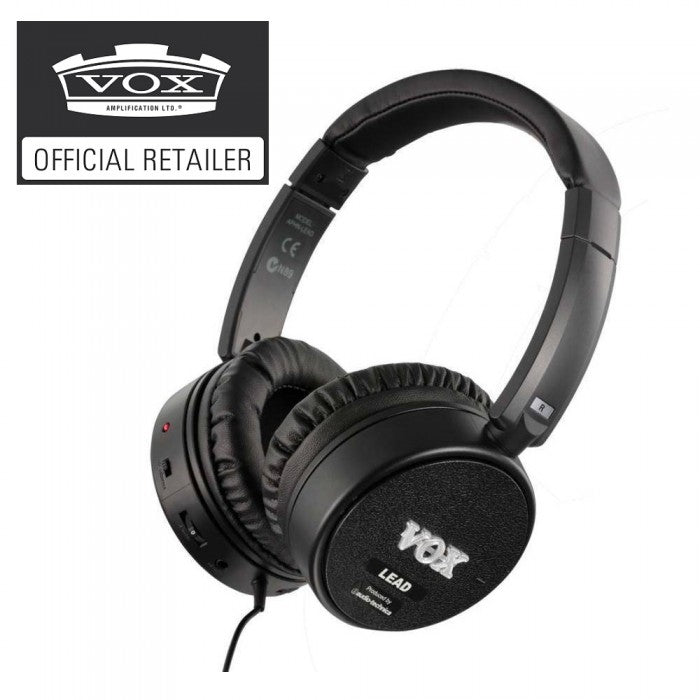 Vox amPhones Lead Active Guitar Headphone (amPhones-Lead) - Music Bliss Malaysia