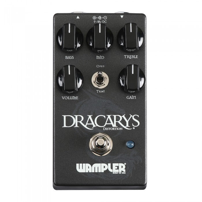 Wampler Dracarys High Gain Distortion Pedal - Music Bliss Malaysia