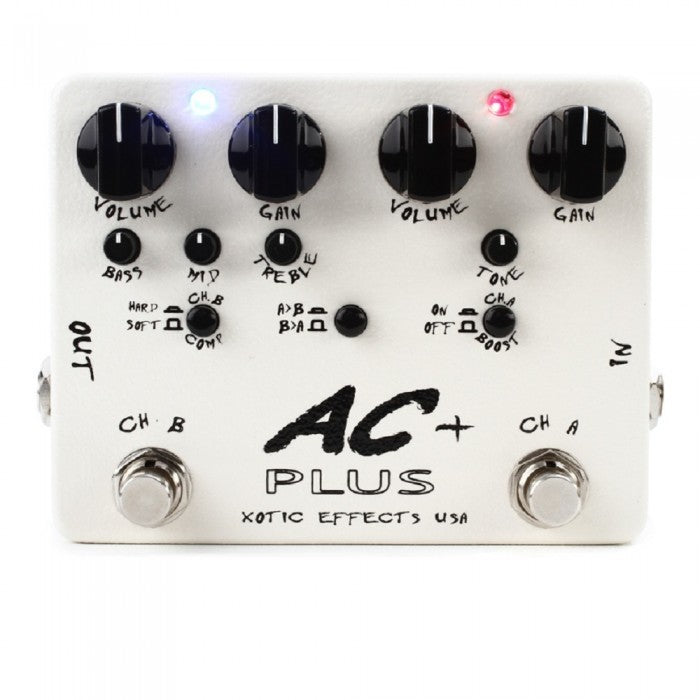 Xotic AC Plus 2-channel Boost/Overdrive Pedal - Music Bliss Malaysia