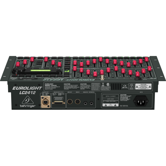 Behringer Eurolight LC2412 78-Channel DMX Lighting Controller (LC-2412) - Music Bliss Malaysia
