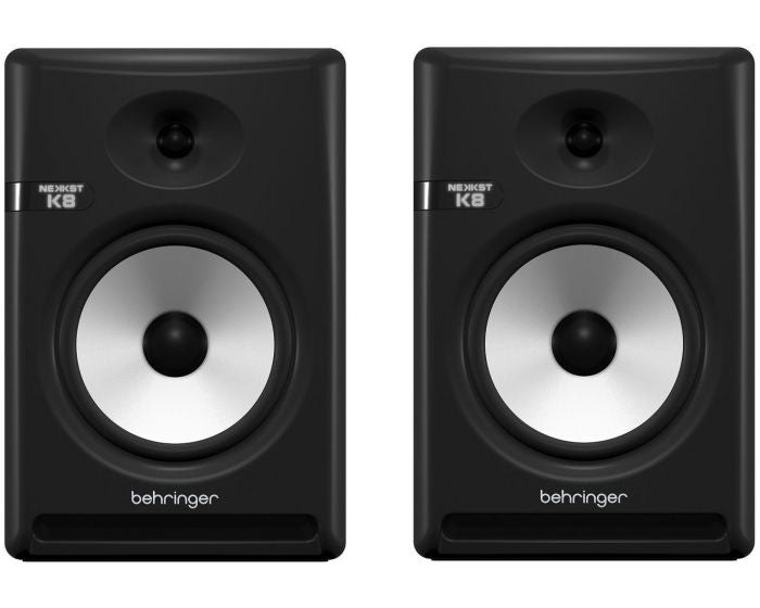 Behringer Nekkst K8 8inch Powered Studio Monitor - Pair (K-8) *Everyday Low Prices Promotion* - Music Bliss Malaysia
