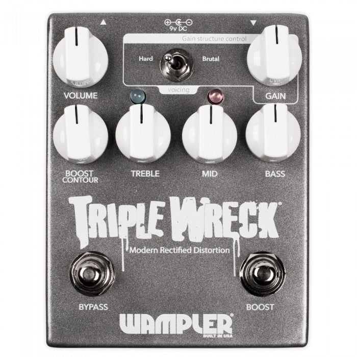 Wampler Triple Wreck High Gain Distortion Pedal - Music Bliss Malaysia