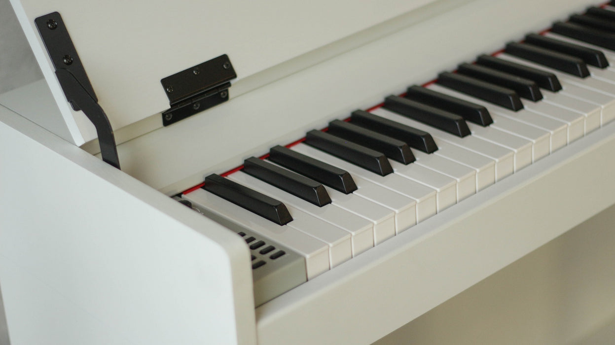 Claydeman Havana MDP-125 88-Keys Home Digital Piano - White (Weighted Keys) - Music Bliss Malaysia