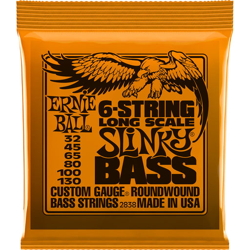 Ernie Ball P02838 Slinky Nickel Wound Electric Bass Guitar Strings