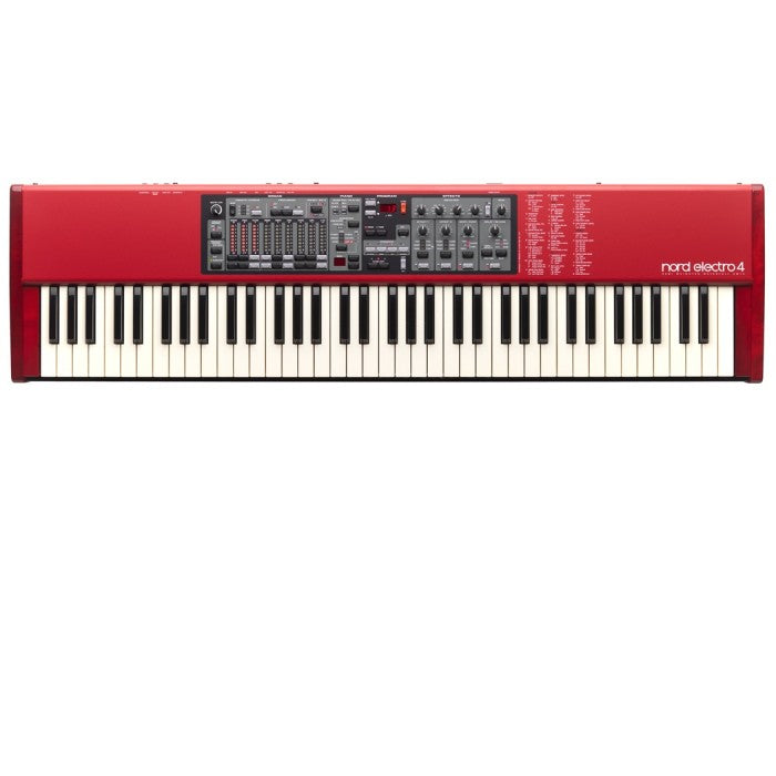 Nord Electro 4 SW73 73-Key Semi Weighted Waterfall Stage Piano - Music Bliss Malaysia