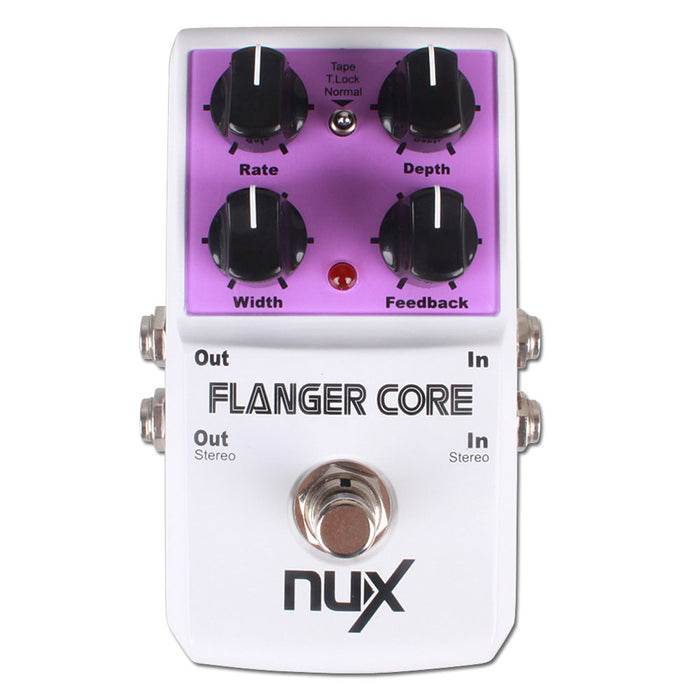 NUX Flanger Core Guitar Effect Pedal - Music Bliss Malaysia