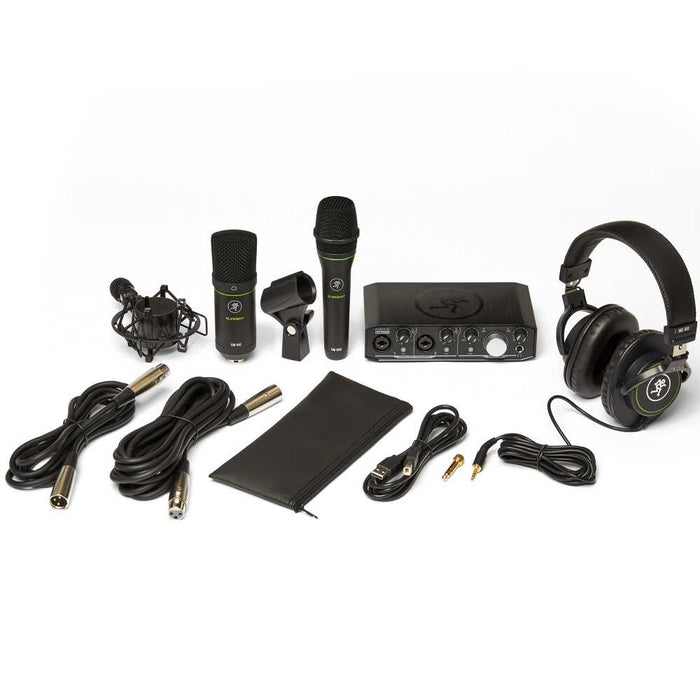 Mackie Producer Bundle with USB Interface and Microphones - Music Bliss Malaysia