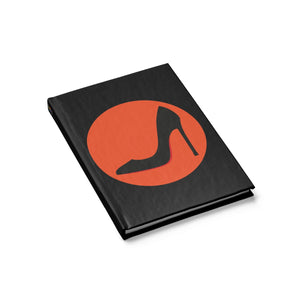 High Heeled Shoe Notebook