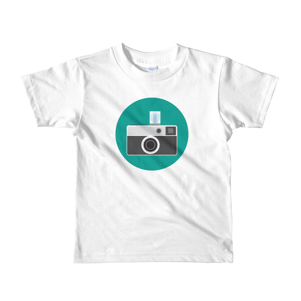 Instamatic on teal (Kids)