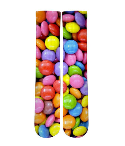 Chocolate candy graphic socks