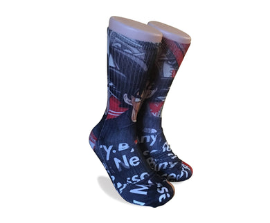 Dragon Ball Z Supreme Mash Up-Custom Elite Crew socks - Dope Sox Official-Elite custom socks