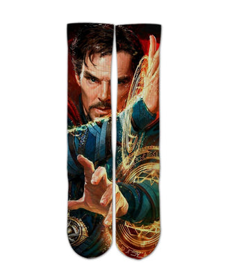 Dr strange Elite Crew socks - Dope Sox Official-Elite custom socks
