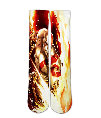 God of war elite socks - Dope Sox Official-Elite custom socks