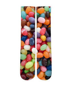 Jelly bean candy elite graphic socks