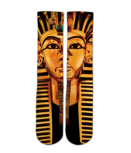 Pharaoh Egypt printed crew socks