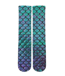Mermaid customized elite socks