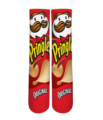 Original Pringles printed crew socks - Dope Sox Official-Elite custom socks