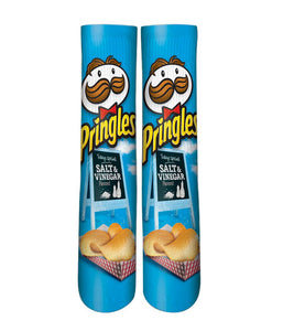 Pringles salt & vinegar printed crew socks - Dope Sox Official-Elite custom socks