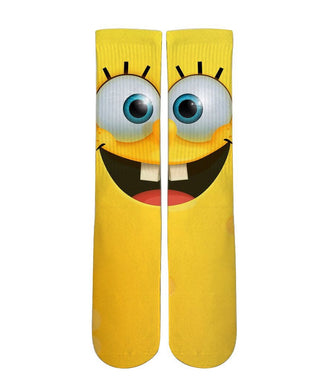 Sponge bob square pants Socks-Custom Elite Crew socks - Dope Sox Official-Elite custom socks