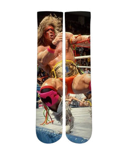 Ultimate warrior classic Elite sublimated socks - Dope Sox Official-Elite custom socks