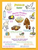 """Pasqua - Easter"" bilingual posters: LARGE (18x24 inches) and regular size (11x17 inches)"
