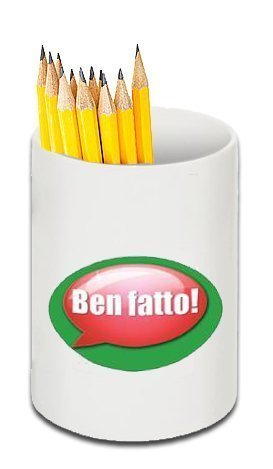 Ben Fatto! - Italian Language Oval Reward Stickers